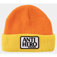 Anti Hero Reserve Patch Beanie Yellow Orange