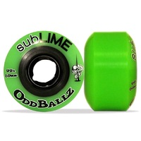 Abec 11 Skateboard Wheels Sublime Oddballz Green 99A 59mm