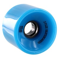Z-Flex V2 Longboard Wheels Solid Blue 69mm