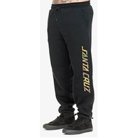 Santa Cruz Camo Strip Track Pants Black Small Mens