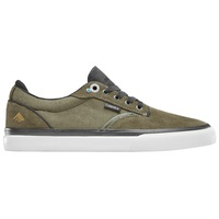 Emerica Mens Skate Shoes Dickson Olive Black