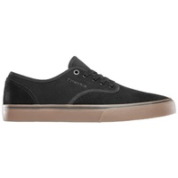 Emerica Mens Skate Shoes Wino Standard Black Gum