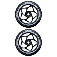 Envy 120mm Tri Bearing Scooter Wheels Set Of 2 Black Black