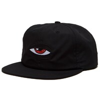 Toy Machine Skate Cap Blood Shot Snapback Black