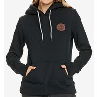 Santa Cruz Bouquet Dot Womens Hoodie Size 6 Black