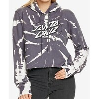 Santa Cruz Stormi Cut Off Womens Hoodie Size 12