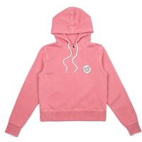 Santa Cruz Missing Dot Womens Hoodie Size 14 Pigment Punch