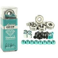 Andale X Diamond Swiss Bearings Hardware Combo Set Of 8