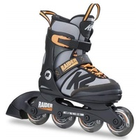 K2 Raider Black Orange Inline Skates Junior US 11 - 2