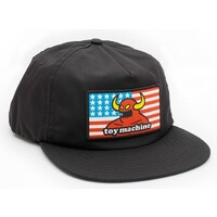 Toy Machine Skate Hat American Monster Snapback Black
