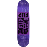 Flip Skateboard Deck Team Odyssey Purple 8.375