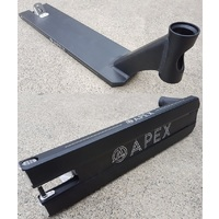 "Apex Scooter Deck 5"" Boxed 600mm Black"