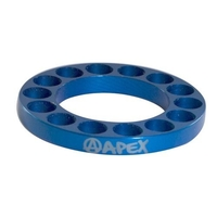 Apex Scooter Bar Riser Spacer Blue 5mm