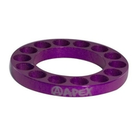 Apex Scooter Bar Riser Spacer Purple 5mm