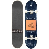 Arbor Complete Skateboard Team Whiskey 7.75""