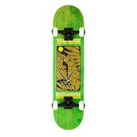 BIRDHOUSE - LEVEL 3 HAWK KNIVES COMPLETE SKATEBOARD - BLUE STAIN 8
