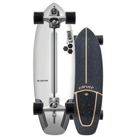 Carver Skateboard Complete - Channel Islands Flyer - C7 Trucks Silver