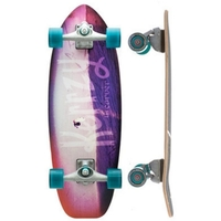 Carver Skateboard Complete - Kerrzy Snapper With Cx Trucks Silver