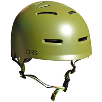 Drs Skate Scooter Bmx Helmet Camo Green Small to Medium Approved Adjustable