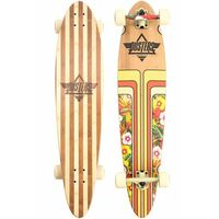 Dusters Complete Longboard Skateboard Primo V2 Bamboo Honeycreeper