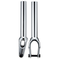 Fasen Scooter Forks - Bullet - With IHC Kit - Chrome