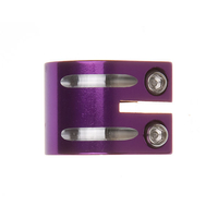 Flavor Scooter Double Clamp Purple