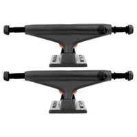Industrial Skateboard Trucks 5.25 Black Set Of 2 Trucks