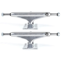 "Industrial Skateboard Trucks 5.25"" Polished Set Of 2 Trucks"
