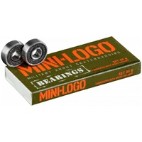 Mini Logo Skateboard Scooter Bearings 8 Pack