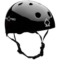 Protec Classic Skate Helmet - Gloss Black  - Size Extra Large - Skate Scooter