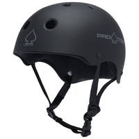 Protec Helmet Classic Skate Scooter Matte Black Extra Small