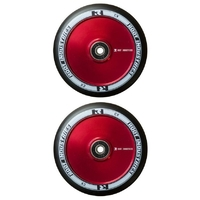 Root Industries Air 110mm Wheel Set Black Pu Red Core