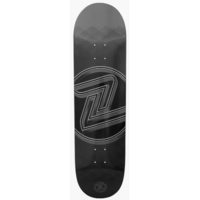 Z-Flex Skateboard Deck - Logo Deck Grey - 8.75 - Made In Usa