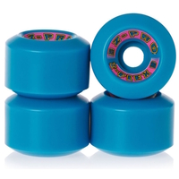 Z-FLEX Z-PRO 60MM SKATEBOARD WHEELS 90A - BLUE