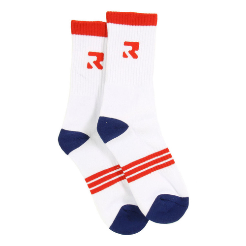 Root Industries Socks Three Stripes White Size 7-11