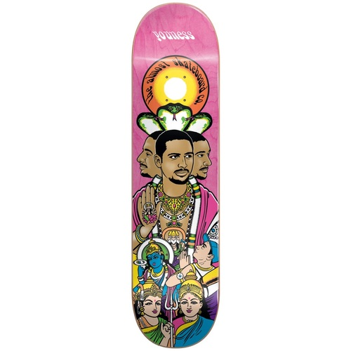 Almost Skateboard Deck Enlightenment R7 Youness 8