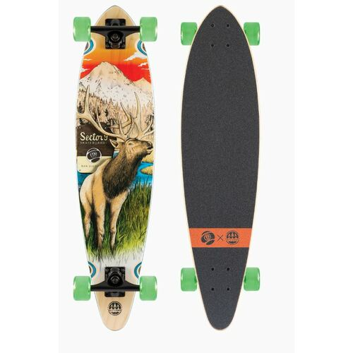 Sector 9 Complete Longboard Skateboard Stag Swift Complete