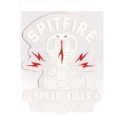 Spitfire Speed Kills Sticker V2
