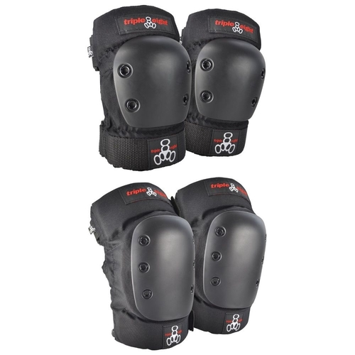 TRIPLE 8 PARK PRO KNEE ELBOW PROTECTIVE PAD SET - 2 PACK - JUNIOR XS